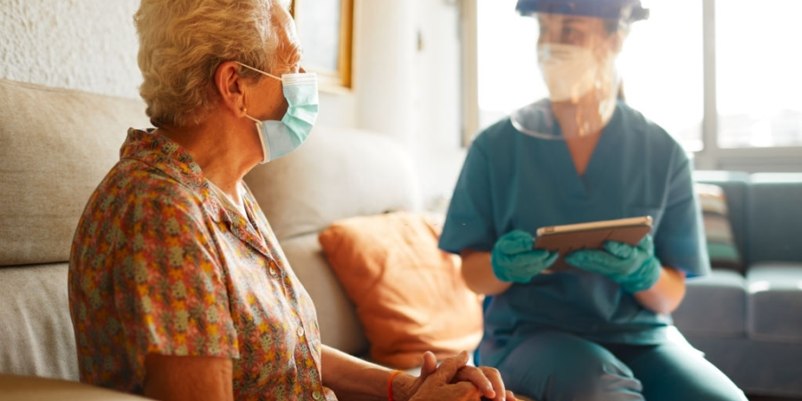 Nursing homes still grapple with critical shortages of PPE.